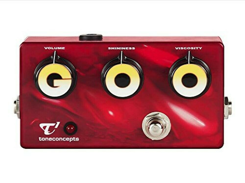 Toneconcepts GOODistortion pedal supervised by Nels Cline JAPAN Limited Edition