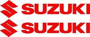 Suzuki-Stickers-2-x-300-mm-x-60-mm-Quality-Outdoor-Vinyl-Sticker