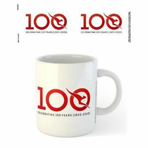 Qantas-Centenary-Logo-Mug-x-2-BRAND-NEW-Set-of-2-Mugs