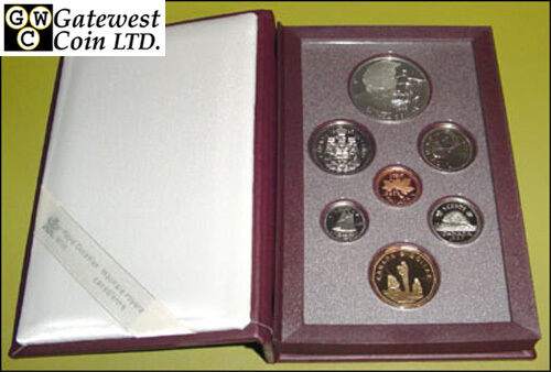 10111 1995 Red Proof Double Dollar Set