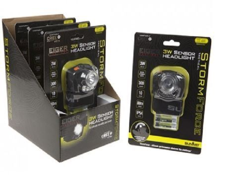 3W CREE LED HEADLIGHT Sensor NIGHT VISION Hunting HEAD LIGHT TORCH Camping