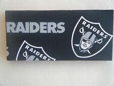 NFL Magic Wallet, Raiders  Design, Designed For Mostly Women Black Lining.