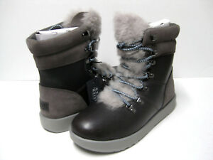 ae7457a7725 Details about UGG VIKI WATERPROOF WOMEN BOOTS LEATHER METAL US 8.5 / UK 7  /EU 39.5