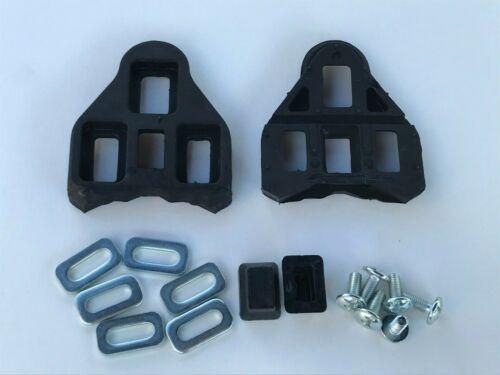 New Road Bike Pedal Cleats 3 Holes Look Delta Compatible 0° No Float