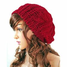 item 3 Women Ladies Warm Winter Beret Braided Baggy Beanie Knitted Crochet Hat  SKI Cap -Women Ladies Warm Winter Beret Braided Baggy Beanie Knitted  Crochet ... de33eff5eb1c