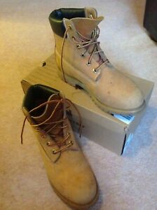 TIMBERLAND-Women-039-s-Premier-6-inch-boots-wheat-MADE-IN-USA-model-10361-US9-UK7