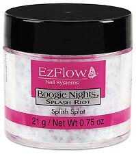 EzFlow Boogie Night Splash Riot Glitter Acrylic Powder - Splish Splat  42302