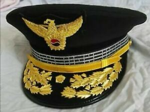 South-Korea-Police-General-Hat-Cap-Hand-Made-Hand-Embroidered-All-Sizes