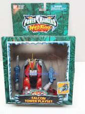 Power Rangers Bandai Wild Force Micro FALCON TOWER PLAYSET boxed incomplete 2001