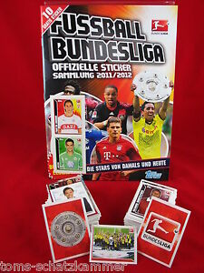 Panini komplett Champions League 11/12 Sammeln & Seltenes Album Leeralbum alle Sticker 2011/2012