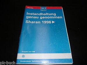 repair manual sharan