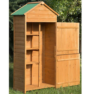 Outdoor Wood Storage Cabinets With Doors