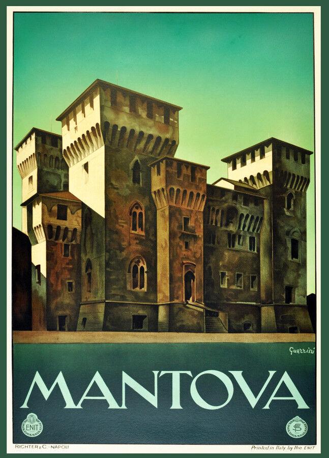 6684.Mantova  Travel POSTER.Home room Decoration.Graphic art design decor