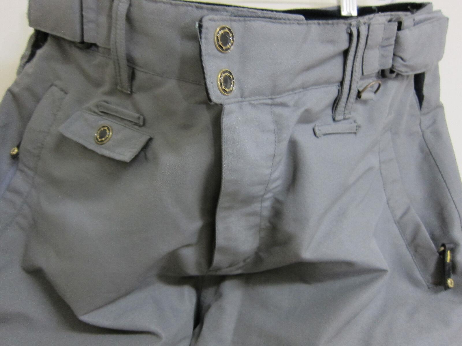 Empyre 10.000MM Unisex Snowboarding Pants Größe Medium grau Waterproof 1Time worn 1Time Waterproof 4b9543