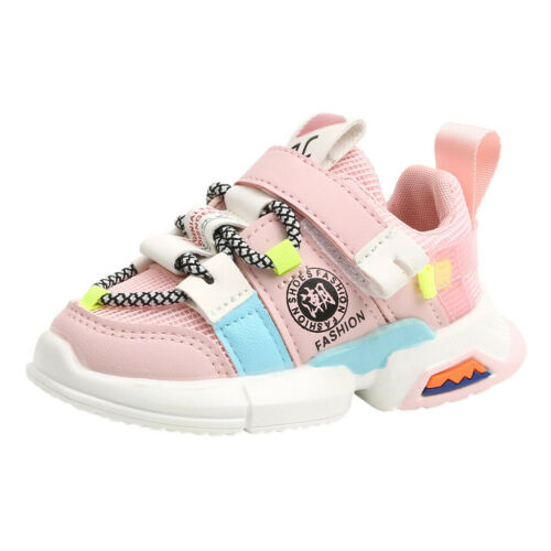 Toddler Infant Kid Baby Girl Boy Fashion Soft Sole Mesh Run Sport Shoes Sneakers