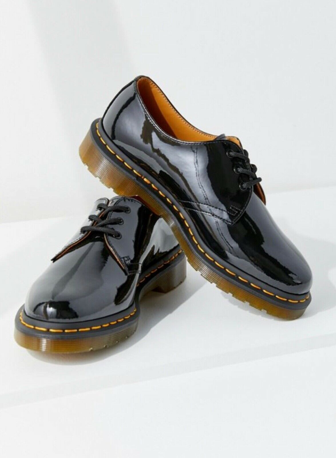 NEW Dr. Dr. Dr. Martens 1461 Patent 3-Eye Oxfords Size 6 US 4 UK 37 EU Black Leather c4a7b4