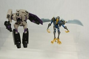 Transformers Animated Series Blitzwing Voyager Class + Swoop Dinobot Bundle