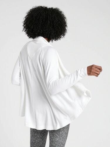 NWT Athleta Nirvana Wear Two Ways Wrap BLACK SIZE XS            #416969 N0822