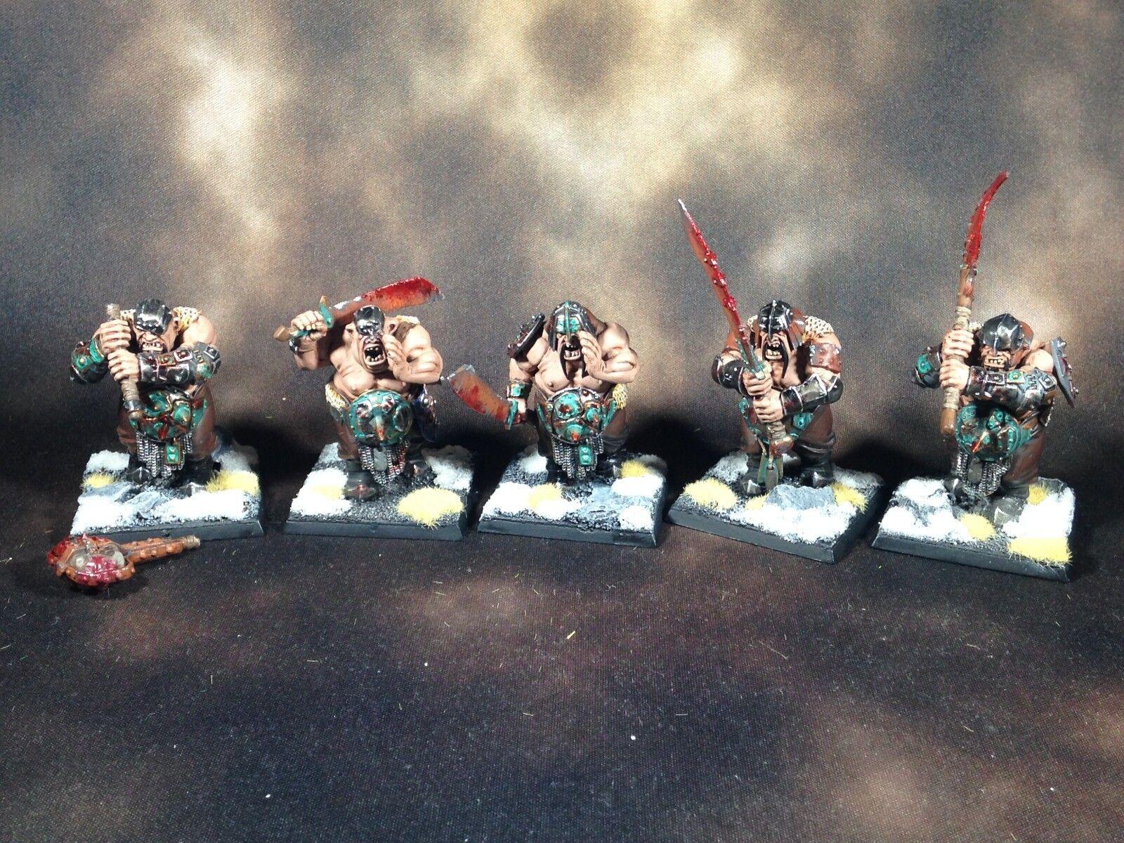Warhammer fantasy aos zerstörung oger königreiche ironguts gemalt