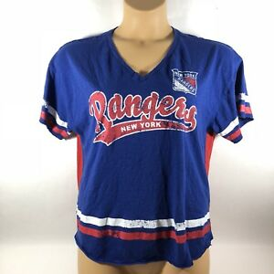 G-iii NEW YORK RANGERS NHL Hockey Shirt Women s Medium M  58013f44d0
