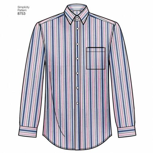 fp simplicidad - 8753-M Gratis Reino Unido P/&p Simplicity Sewing Pattern 8753