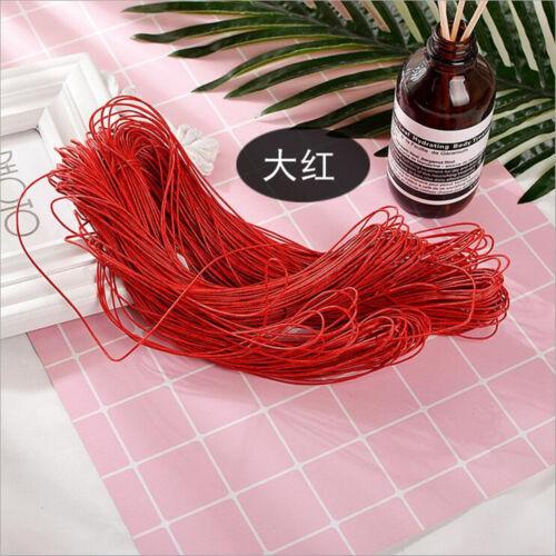 80M Wax Line DIY Wedding Party Cake Box Necklace Jewelry Decorative Hand Rope