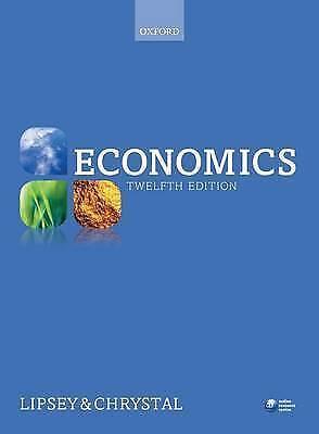 1 of 1 - Very Good, Economics, Chrystal, Alec, Lipsey, Richard, Book