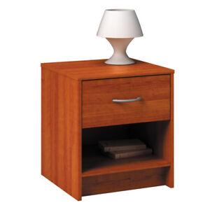 Bedside Table Storage Cabinet Chest Wood Bedroom Furniture Side Table Drawer 4250525302486 Ebay