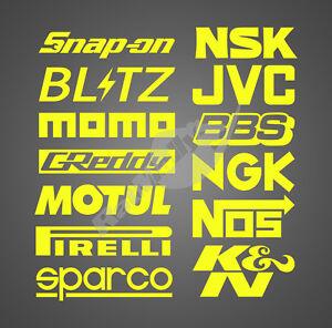 SUBARU-WRC-RALLY-Patrocinadores-Neon-Fluorescente