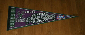 2001-Milwaukee-Bucks-Central-Division-Champs-pennant-Ray-Allen-Big-Dog-Cassell