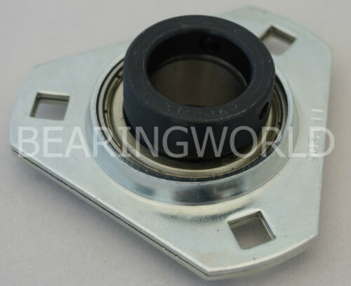 "SAPFT20108 High Quality 12"" Eccentric Pressed Steel 3Bolt Flange Bearing"