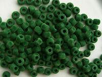 160 Soft Green Fuzzy 9x6mm Pony Beads For School Kids Crafts Rave Kandi Jewelry