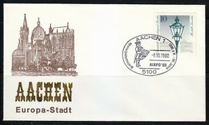 Germany-1980-cover-SST-Sonderstempel-Aachen-AIXPO-039-80-Briefmarkenfreunde