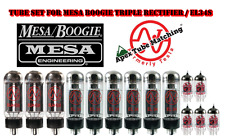 Tube Set for Mesa Boogie Triple Rectifier amp with EL34s JJ Electronics/TESTLA
