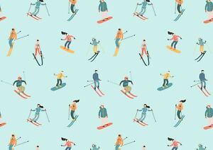 Cool-Skiing-Snowboarding-Poster-Size-A4-A3-Winter-Sports-Poster-Gift-12447