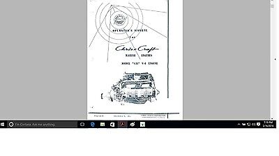 chris craft vintage engine manuals 431 ford parts n operation ebaychris craft vintage engine manuals 431 ford parts n operation
