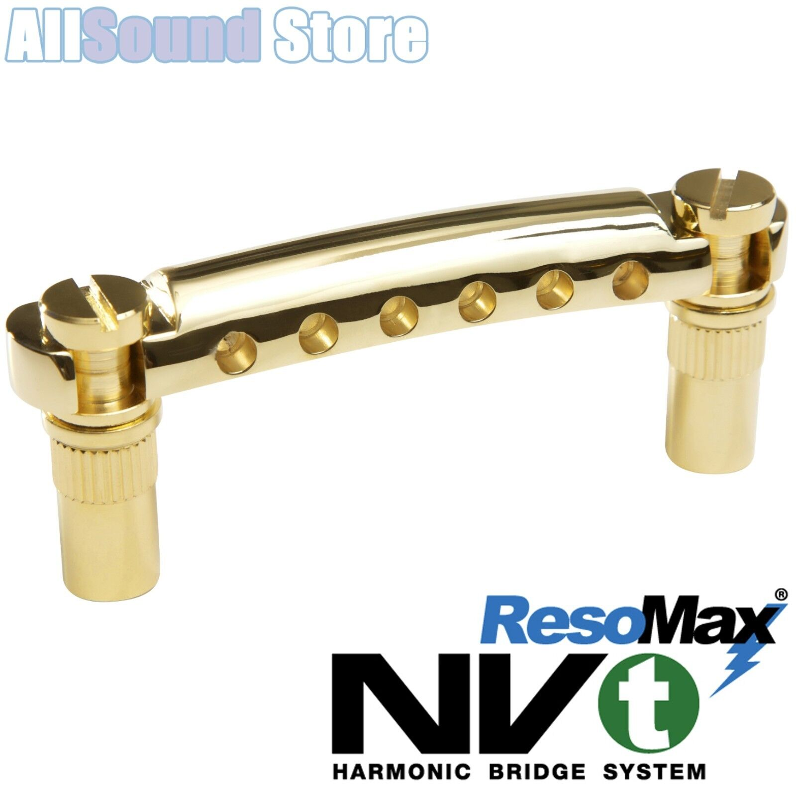 Graph Tech PS-8893-G0 - ResoMax NVT Tailpiece 6mm - Gold for Gibson, Epiphone