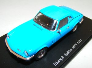 1-43-Spark-Triumph-Spitfire-MK4-from-1971-in-Blue-S1398
