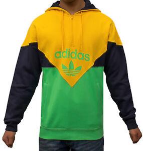 39dfb36e8f81 Image is loading Adidas-Originals-Colorado-Half-Zip-Hoodie-Hooded-Sweatshirt -