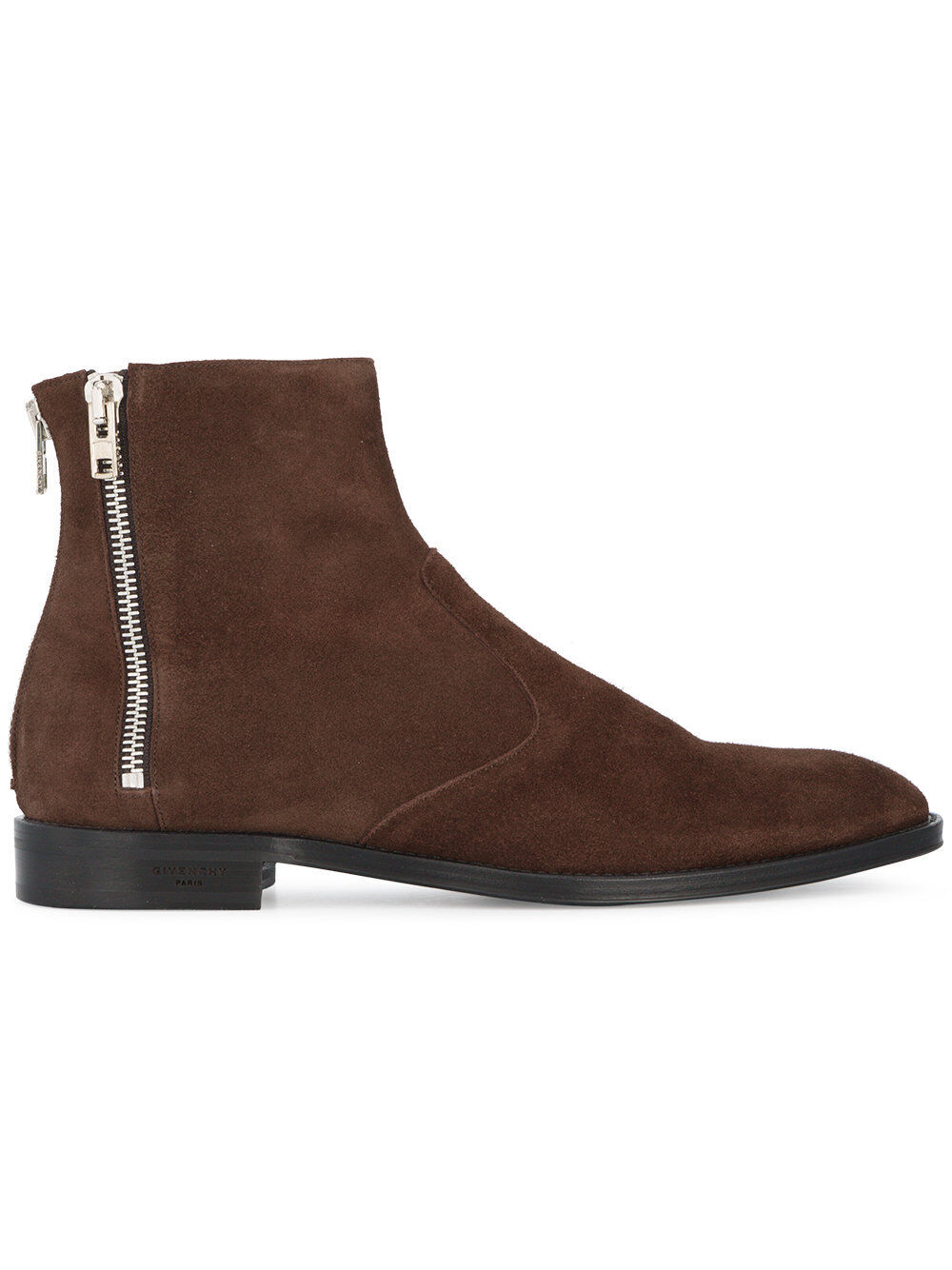 Handmade Men Marroneee stivali, Men Marroneee Suede ankle ankle ankle stivali, Mens style zipper stivali aa0327