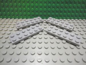 Lego 4 Dark Brown 2x6 base plates NEW