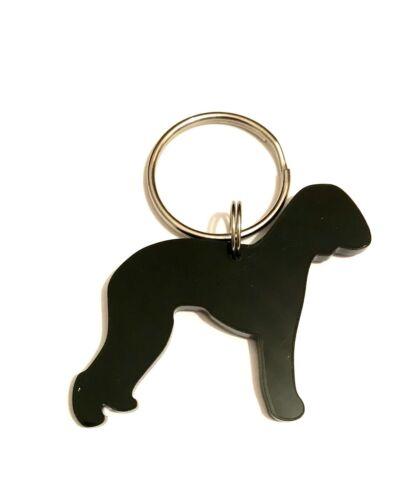Bedlington Terrier Dog Keyring Keychain Bag Charm Gift