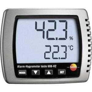 Testo-608-h2-igrometro-2-ur-98-indicatore-punto-di-rugiada-e-allerta-muffa