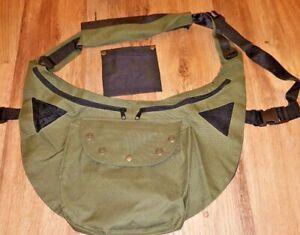 Falconry-Codura-Bandolero-Green-bag-Side-Hawking-amp-Hunting-Bag-Free-Meat-Pouch