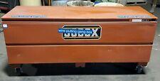 Crescent Jobox 1 658990 72 X 24 X 27 34 Jobsite Tool Box Hinged Steel