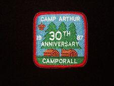 BOY SCOUT   CAMP ARTHUR  30TH ANNIV PP   BUFFALO TRACE CNCL   IND