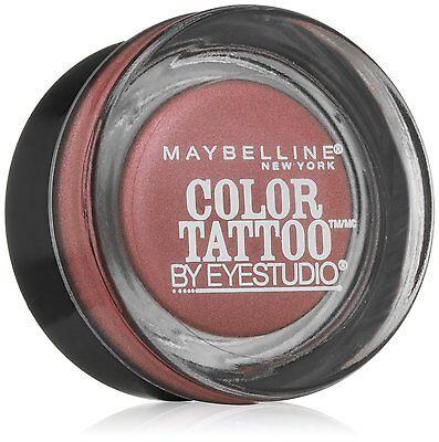 Maybelline COLOR TATTOO 24 HR Eyeshadow Metal 55 Inked in Pink ~ Factory Sealed