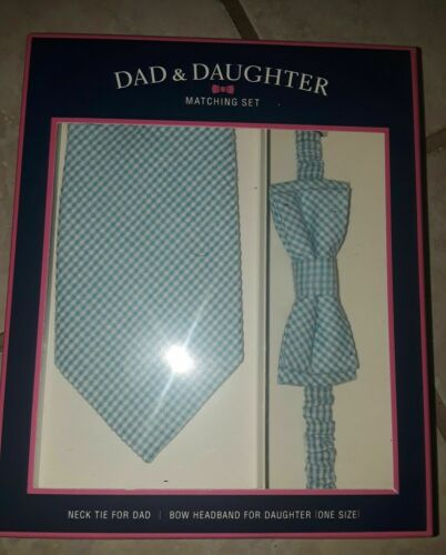 Dad and Daughter Matching Headband and Bow Tie//Neck Tie Set 5 styles