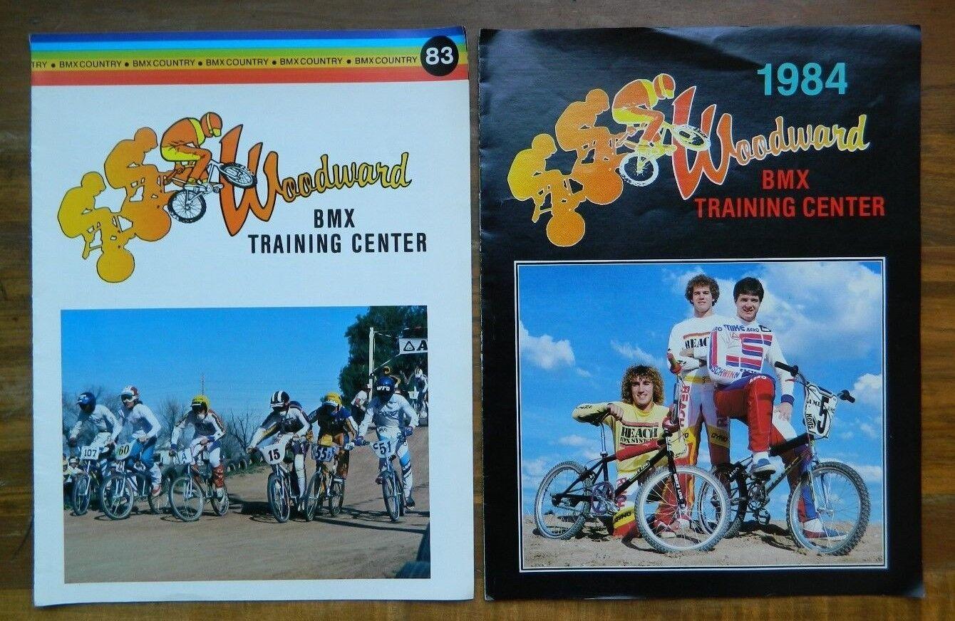 1983 & 1984 Woodward Camp Programs, BMX Training Center 1st Year, ABA