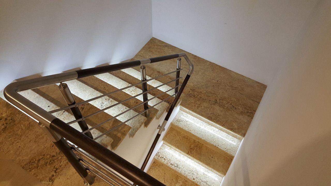 50cm Corner Aluminum profile+LED strip+12V power supply CABINET SHELF, Stair LED